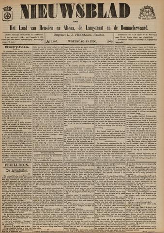 Nieuwsblad het land van Heusden en Altena de Langstraat en de Bommelerwaard 1900-12-19
