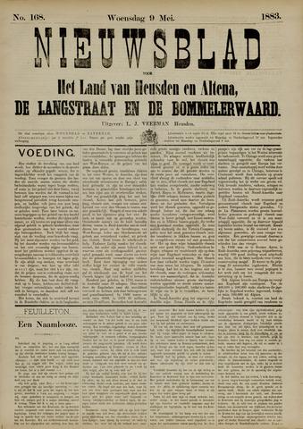 Nieuwsblad het land van Heusden en Altena de Langstraat en de Bommelerwaard 1883-05-09