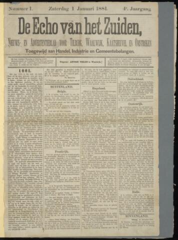 Echo van het Zuiden 1881-01-01