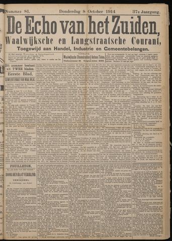 Echo van het Zuiden 1914-10-08