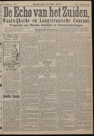 Echo van het Zuiden 1912-05-16