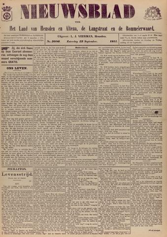 Nieuwsblad het land van Heusden en Altena de Langstraat en de Bommelerwaard 1911-09-23