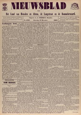 Nieuwsblad het land van Heusden en Altena de Langstraat en de Bommelerwaard 1908-12-12