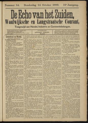 Echo van het Zuiden 1889-10-24