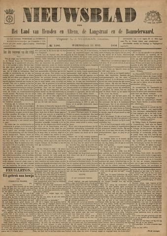Nieuwsblad het land van Heusden en Altena de Langstraat en de Bommelerwaard 1896-05-13