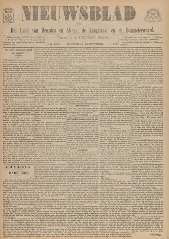 Nieuwsblad het land van Heusden en Altena de Langstraat en de Bommelerwaard 1897-10-16