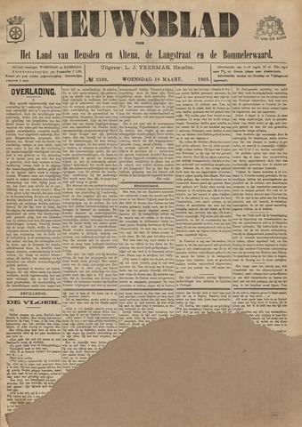 Nieuwsblad het land van Heusden en Altena de Langstraat en de Bommelerwaard 1903-03-18