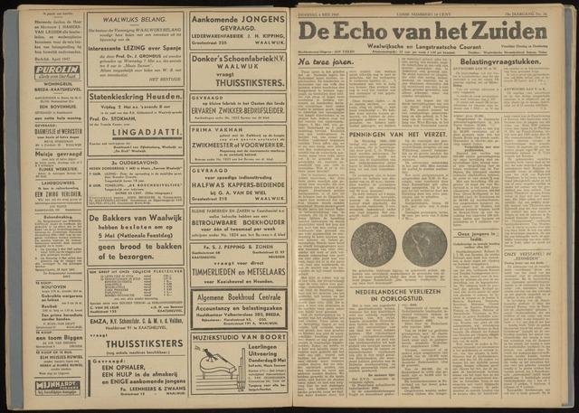 Echo van het Zuiden 1947-05-06