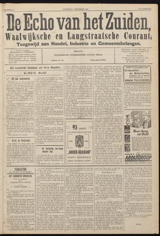 Echo van het Zuiden 1938-12-03