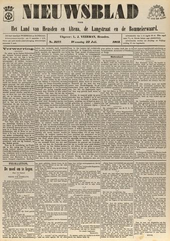 Nieuwsblad het land van Heusden en Altena de Langstraat en de Bommelerwaard 1913-07-23