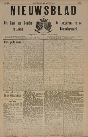 Nieuwsblad het land van Heusden en Altena de Langstraat en de Bommelerwaard 1888-08-25