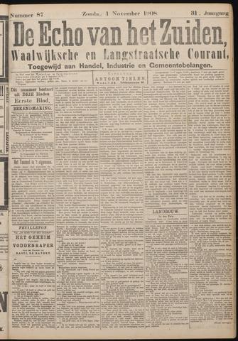 Echo van het Zuiden 1908-11-01