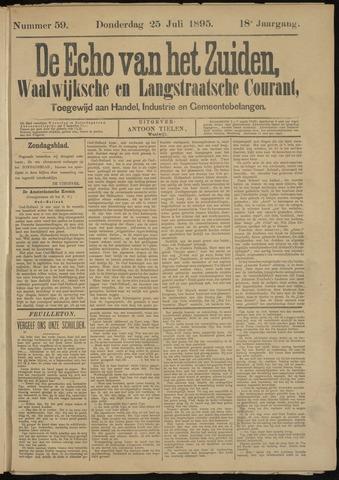 Echo van het Zuiden 1895-07-25