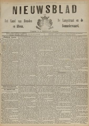 Nieuwsblad het land van Heusden en Altena de Langstraat en de Bommelerwaard 1891-11-18