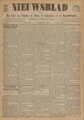 Nieuwsblad het land van Heusden en Altena de Langstraat en de Bommelerwaard 1896-06-06