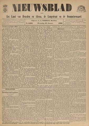 Nieuwsblad het land van Heusden en Altena de Langstraat en de Bommelerwaard 1906-01-31