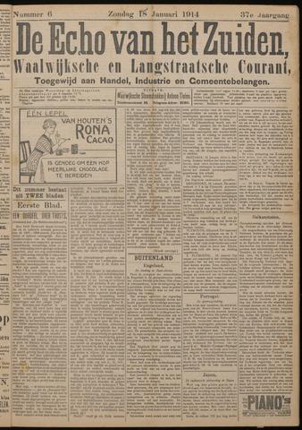 Echo van het Zuiden 1914-01-18