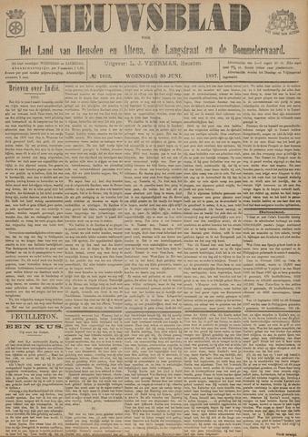 Nieuwsblad het land van Heusden en Altena de Langstraat en de Bommelerwaard 1897-06-30