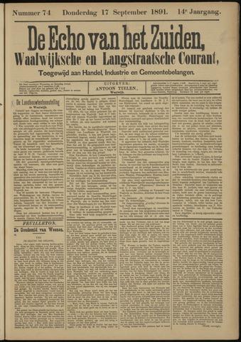 Echo van het Zuiden 1891-09-17