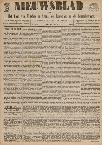 Nieuwsblad het land van Heusden en Altena de Langstraat en de Bommelerwaard 1900-05-16