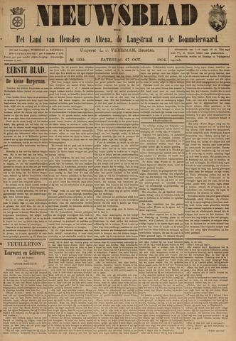 Nieuwsblad het land van Heusden en Altena de Langstraat en de Bommelerwaard 1894-10-27