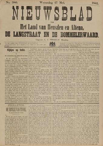 Nieuwsblad het land van Heusden en Altena de Langstraat en de Bommelerwaard 1885-05-27