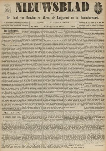 Nieuwsblad het land van Heusden en Altena de Langstraat en de Bommelerwaard 1893-04-19