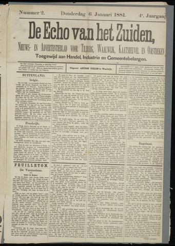 Echo van het Zuiden 1881-01-06