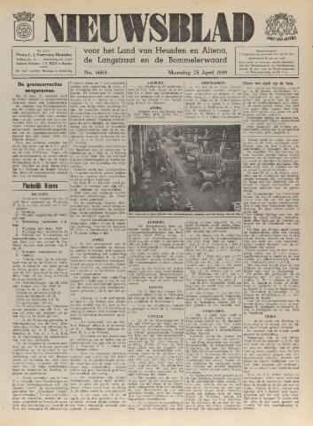 Nieuwsblad het land van Heusden en Altena de Langstraat en de Bommelerwaard 1949-04-25