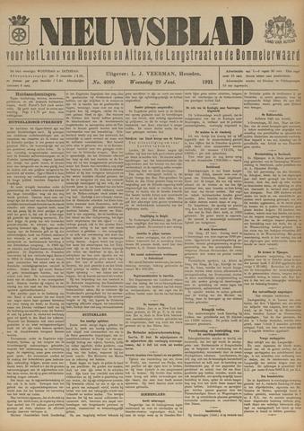 Nieuwsblad het land van Heusden en Altena de Langstraat en de Bommelerwaard 1921-06-29