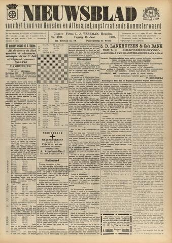 Nieuwsblad het land van Heusden en Altena de Langstraat en de Bommelerwaard 1928-06-15