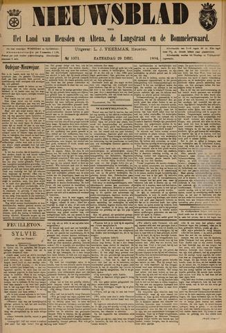 Nieuwsblad het land van Heusden en Altena de Langstraat en de Bommelerwaard 1894-12-29