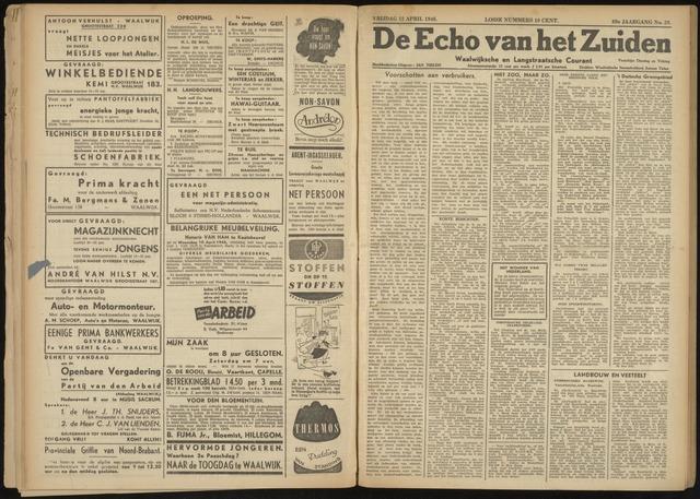 Echo van het Zuiden 1946-04-12