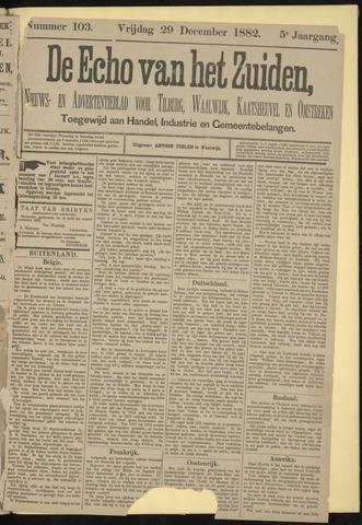 Echo van het Zuiden 1882-12-29