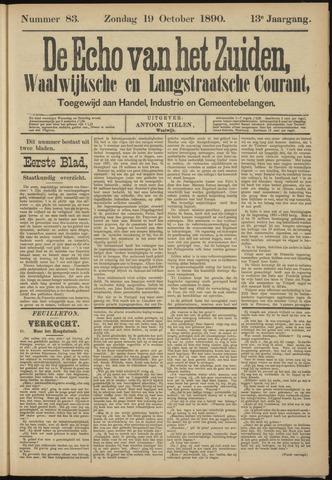 Echo van het Zuiden 1890-10-19