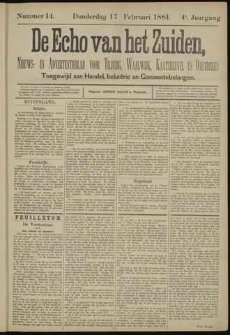 Echo van het Zuiden 1881-02-17