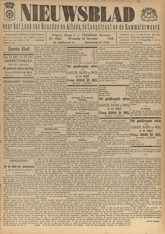 Nieuwsblad het land van Heusden en Altena de Langstraat en de Bommelerwaard 1923-12-12