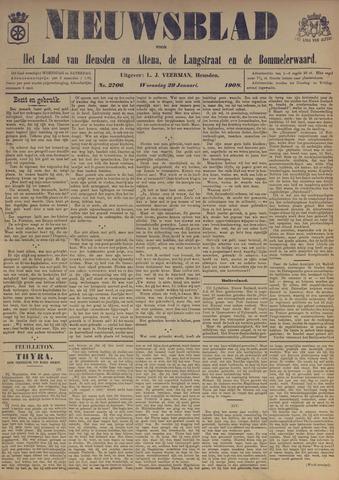 Nieuwsblad het land van Heusden en Altena de Langstraat en de Bommelerwaard 1908-01-29