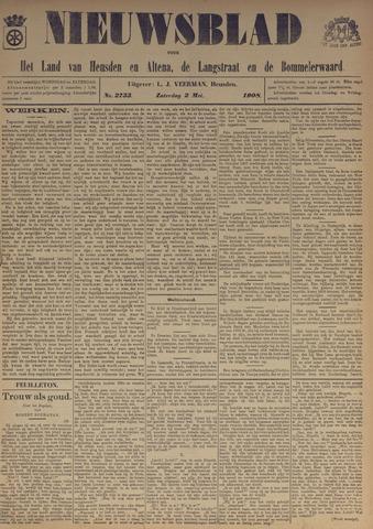 Nieuwsblad het land van Heusden en Altena de Langstraat en de Bommelerwaard 1908-05-02