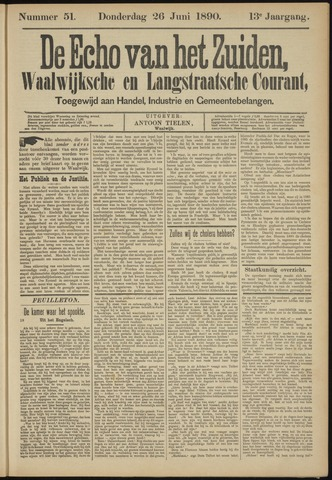 Echo van het Zuiden 1890-06-26