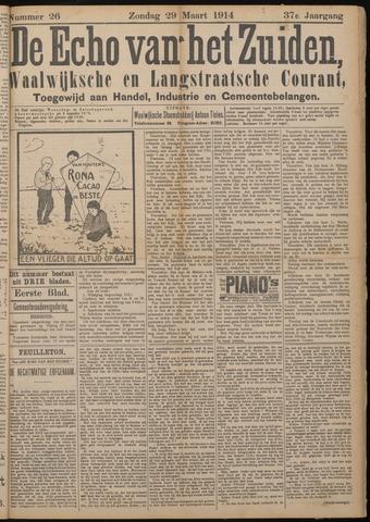 Echo van het Zuiden 1914-03-29