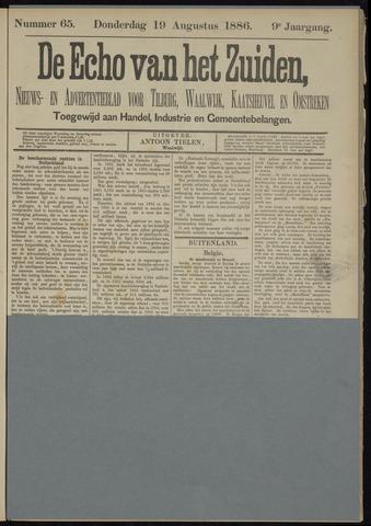 Echo van het Zuiden 1886-08-19