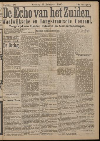 Echo van het Zuiden 1915-02-21