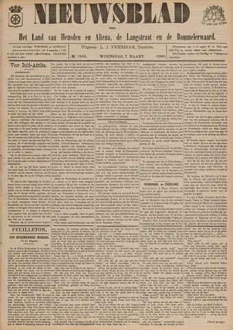 Nieuwsblad het land van Heusden en Altena de Langstraat en de Bommelerwaard 1900-03-07