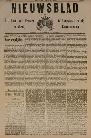 Nieuwsblad het land van Heusden en Altena de Langstraat en de Bommelerwaard 1887-11-30