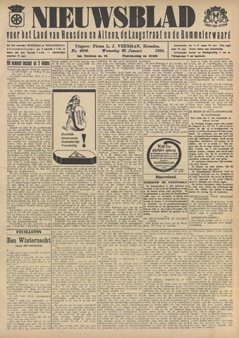 Nieuwsblad het land van Heusden en Altena de Langstraat en de Bommelerwaard 1930-01-29