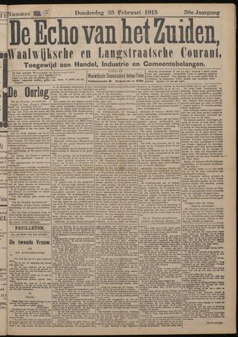 Echo van het Zuiden 1915-02-25