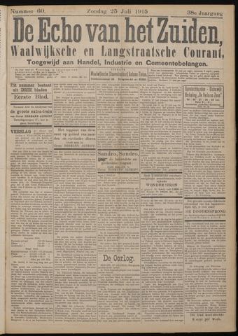 Echo van het Zuiden 1915-07-25