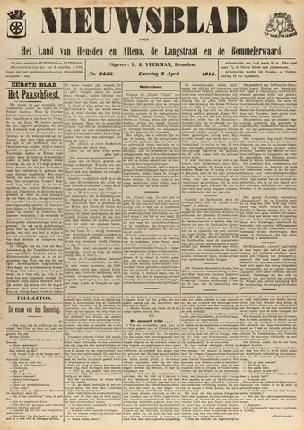 Nieuwsblad het land van Heusden en Altena de Langstraat en de Bommelerwaard 1915-04-03