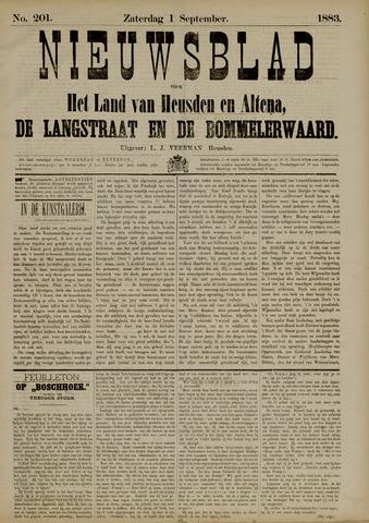 Nieuwsblad het land van Heusden en Altena de Langstraat en de Bommelerwaard 1883-09-01